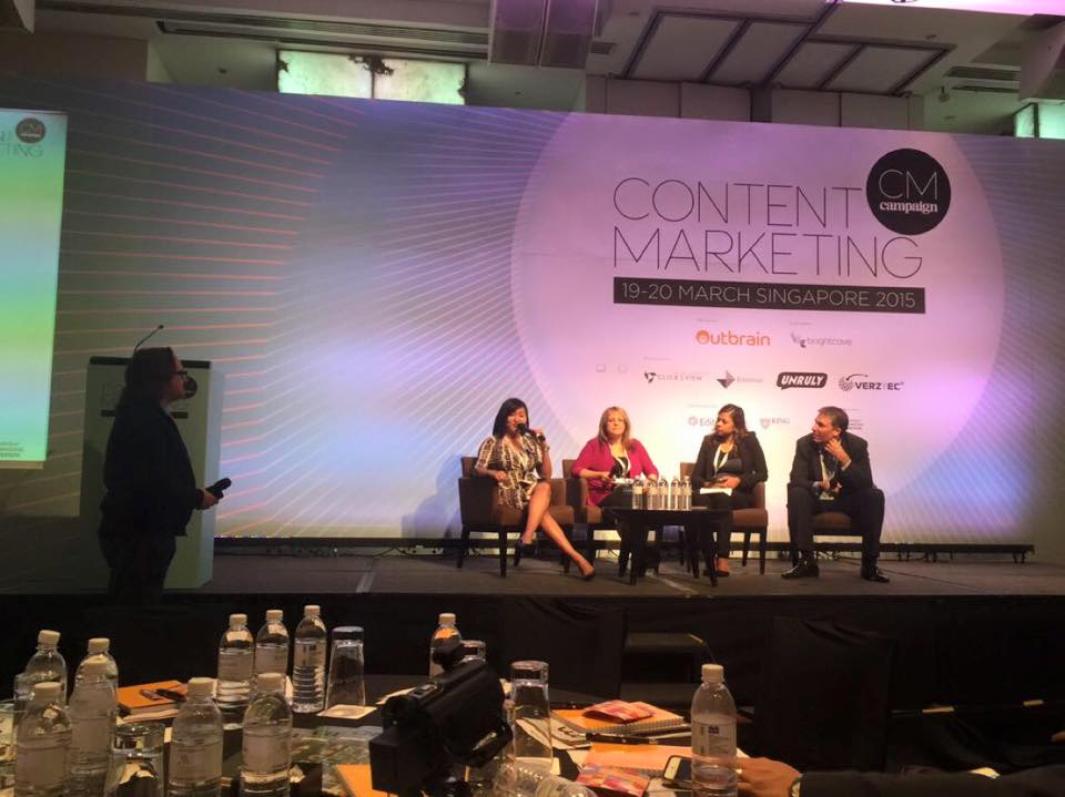 Content Marketing Asia  , organised by Campaign Asia-Pacific