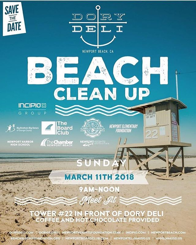 Proud to be a part of the 4th Annual Dory Deli beach cleanup! Join us tomorrow morning @ 9am / Tower 22. Free coffee and hot chocolate provided to fuel us all! We'll see you there. @dorydeli #bendidgo #community #beachcleanup