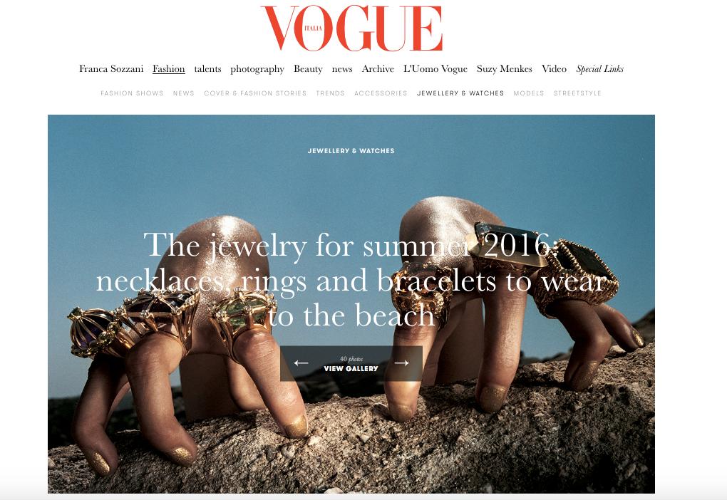 Vogue Italia | press