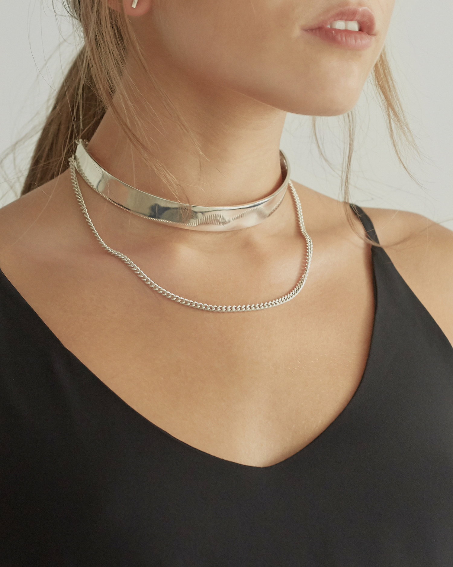 NEW! Limited edition Foundation Choker - available in sterling silver and 18k gold-plated