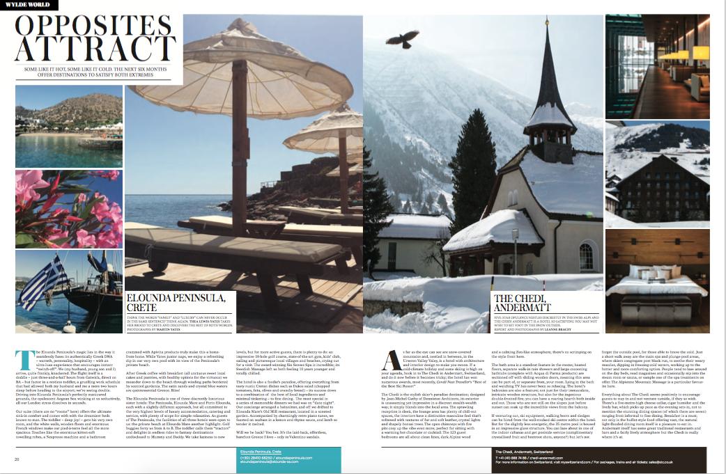 Wylde Magazine autumn/winter 2016