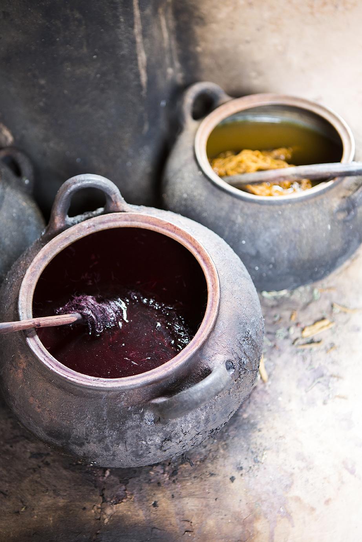 Awana Kancha alpaca farm - equipment used to dye threads_2.jpg