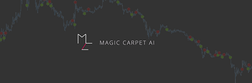 Magic Carpet AI  creates trading robots with artificial intelligence. In particular, we apply the latest research in deep learning and reinforcement learning to unlock the full potential of investment strategies.
