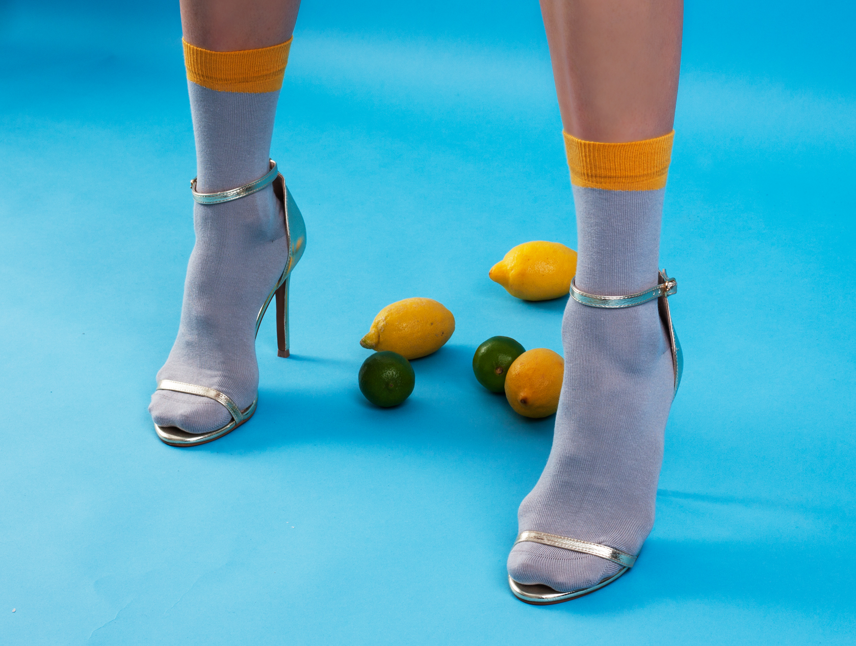 GREY ANKLE SOCKS WITH MUSTARD ANGLED CUFF.jpg