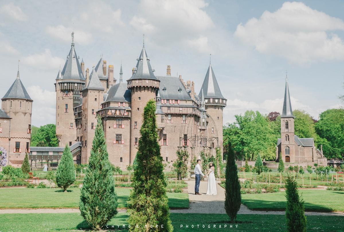 Buiten bruiloft Utrecht Kasteel de Haar