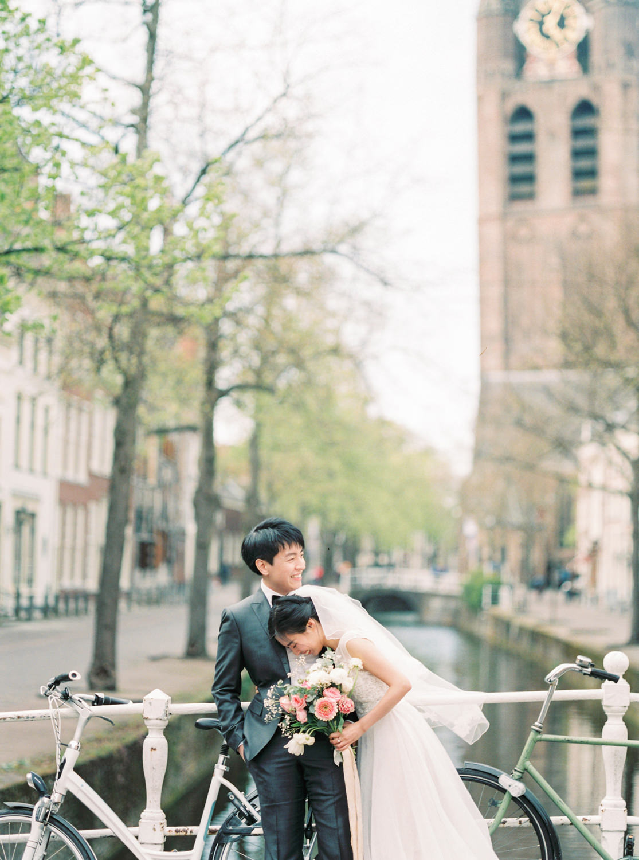 Delft Prewedding Engagement Shoot Photographer