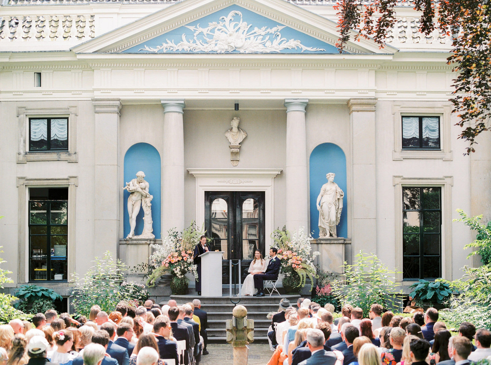 Bruidsfotografie Museum Van Loon Amsterdam - Fine Art Wedding Ph