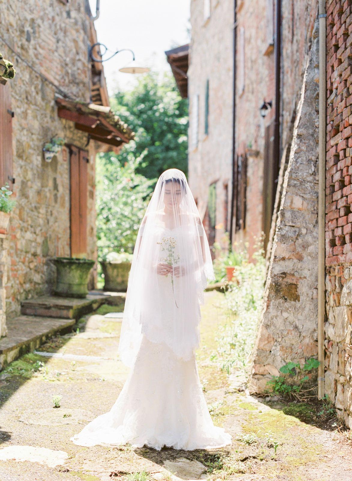 countryside villa elopement   milan, italy