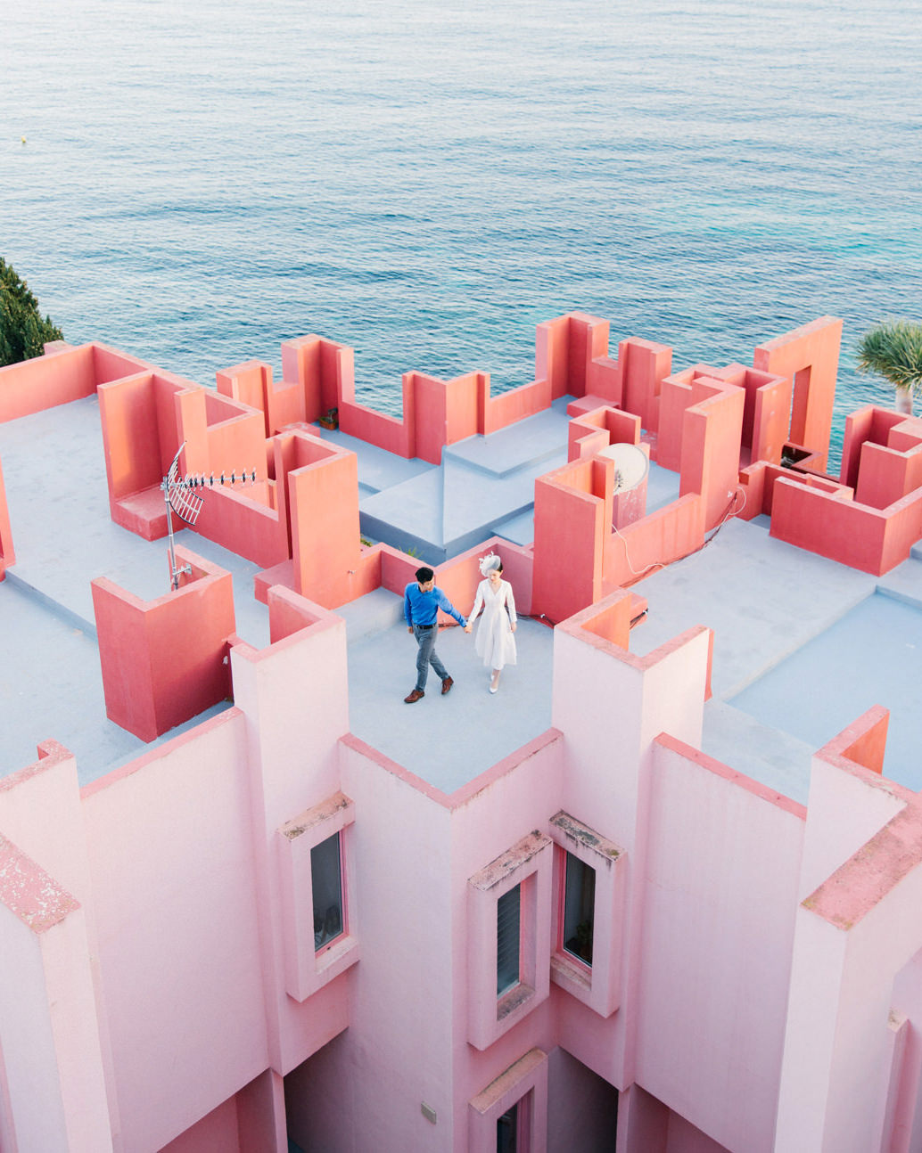 la muralla roja stories   calp, spain