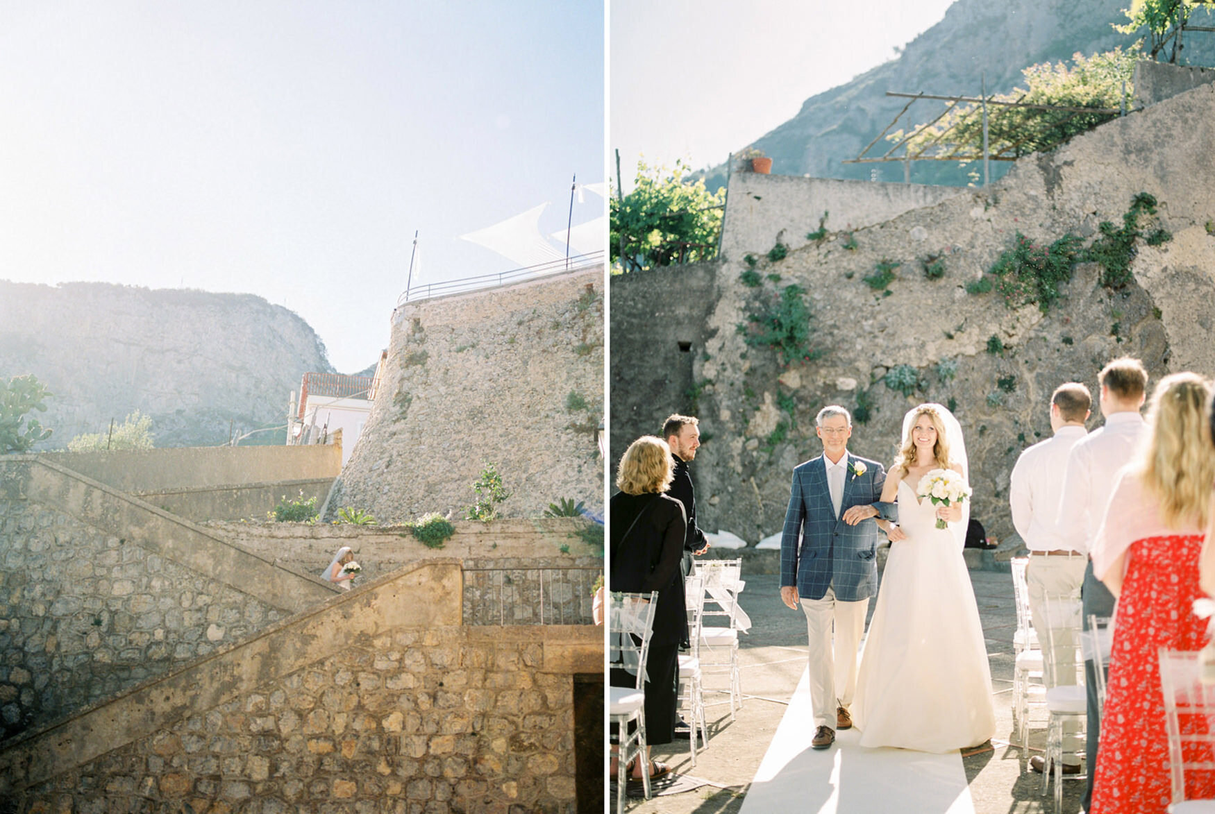 Fine Art Destination Wedding in Amalfi Coast by CHYMO & MORE