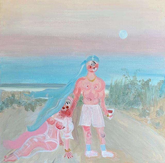 Harvested by night #ohdelaval #oh #instaart #artsy #painting #artgallery #arts #fineart #contemporaryart #modernart #art_spotlight #paris #creative #beach #myart #arty #artofvisuals #artcollector #artwork  #artcollector #london #artofinstagram #monet #pink #party #sunday #ny #artstagram#artstudio #sky #art_spotlight