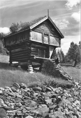 Volltveitloftet. Bildet tatt på 50-tallet