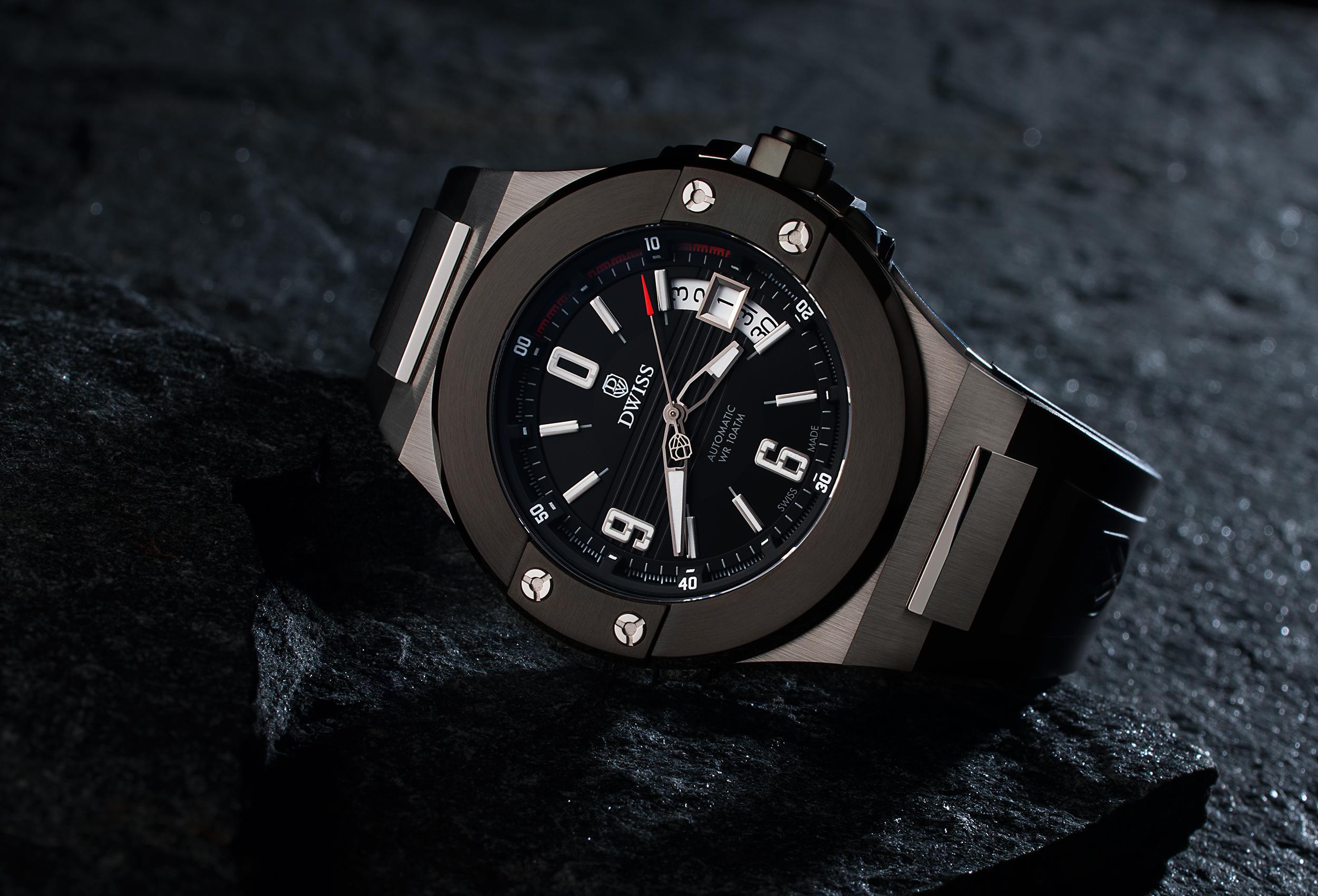 Produktová reklamná fotografia hodiniek