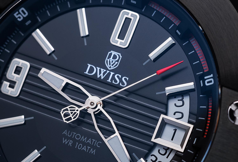 Produktová fotografia, reklamná fotografia, hodinky, Dwiss