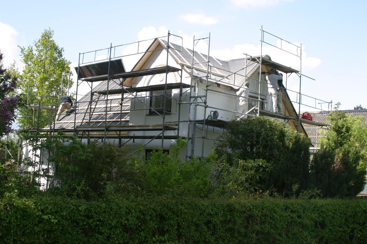 Farmor og farfars hus under renovering