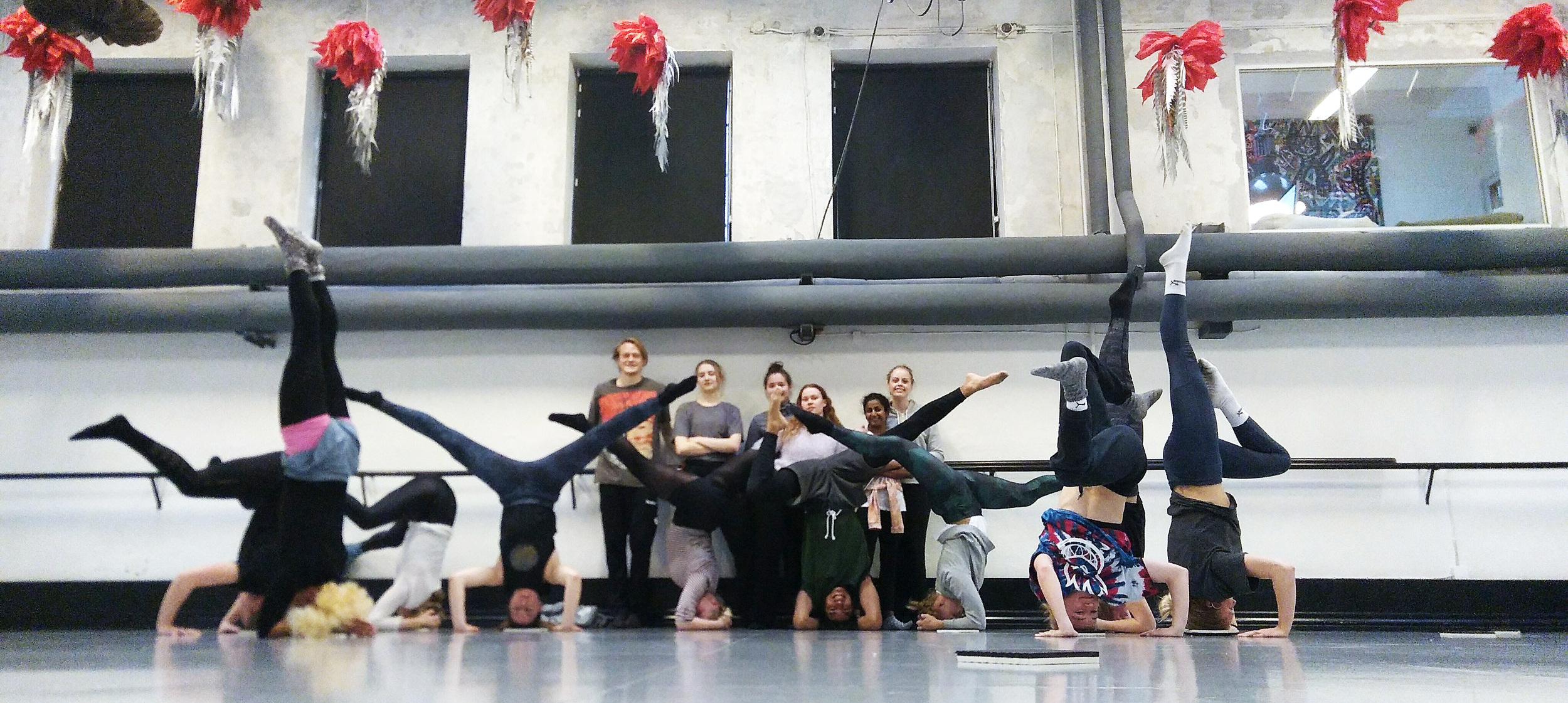 Teaching inversions at Stepz Danseuddannelse