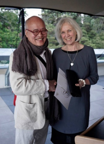Takeshi Yasuda and Louise Rive