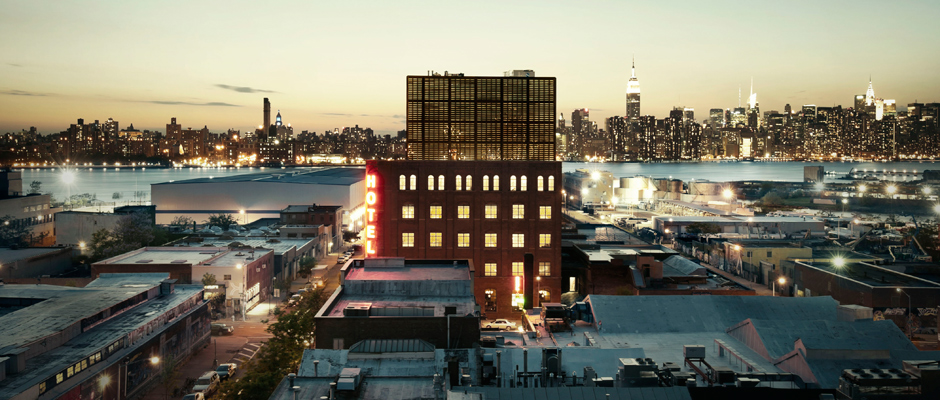 This Urban Retreat will take place at Wythe Hotel in Williamsburg, Brooklyn. Check in for the evening, and discover how complete recharge can happen in your very own city.