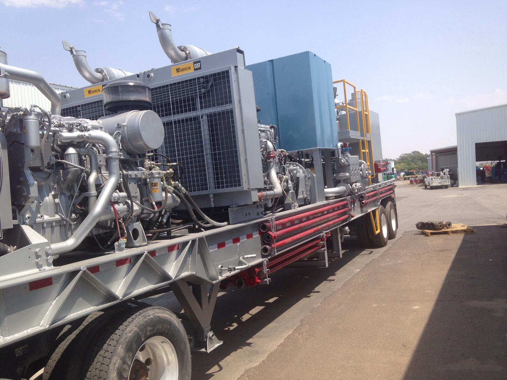 Double Pumper with 2 600HP Triplex Pumps