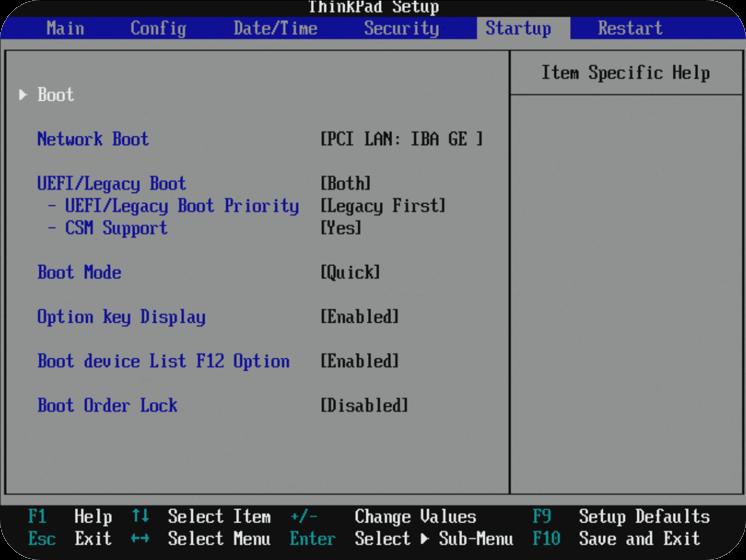 Start Managed PC op fra USB 3