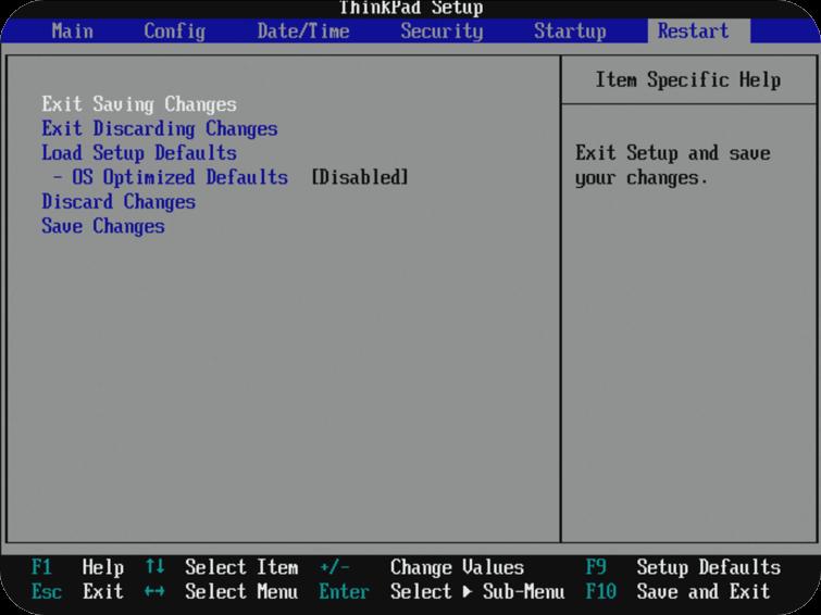 Ændring af Boot Manager 5 Exato