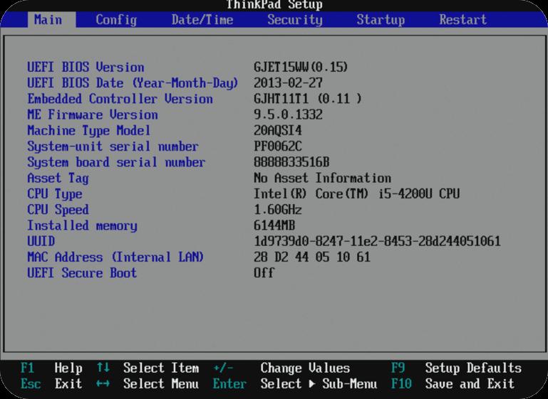 Start Managed PC op fra USB