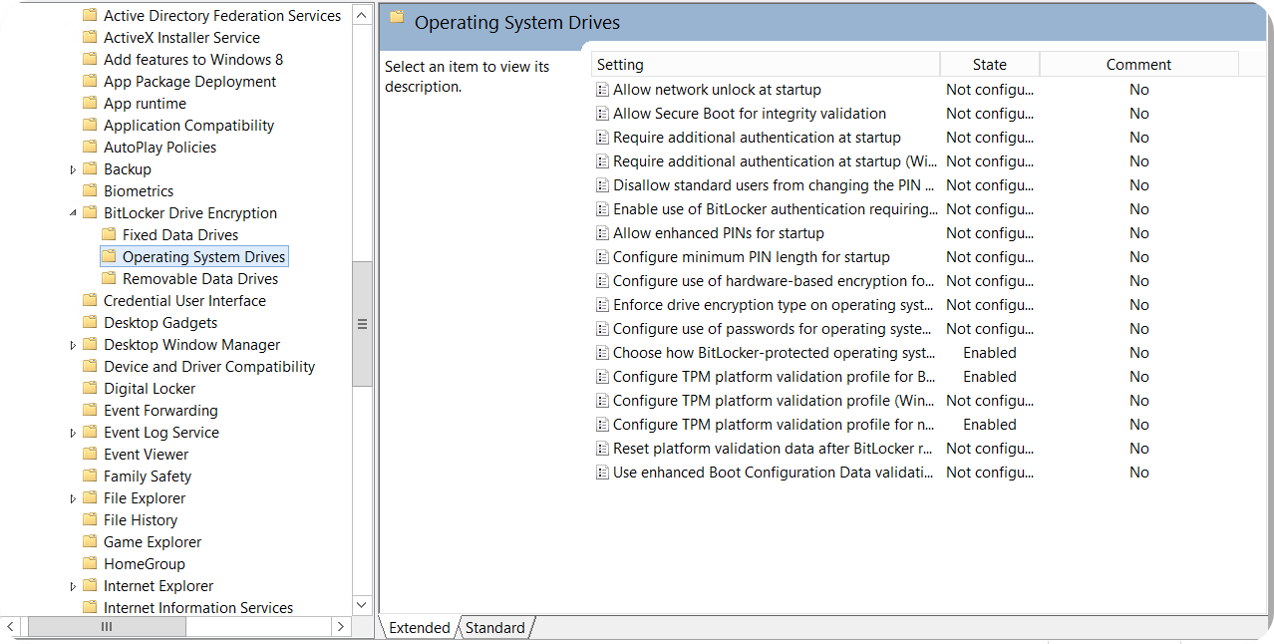 Bitlocker Guide Step 4 - OS Drives