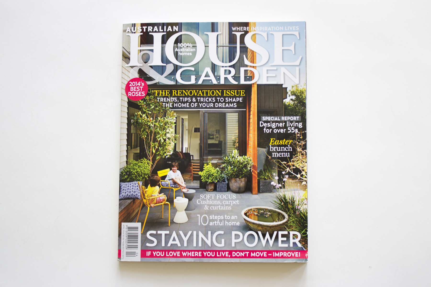 Australian House and Garden - April 2014