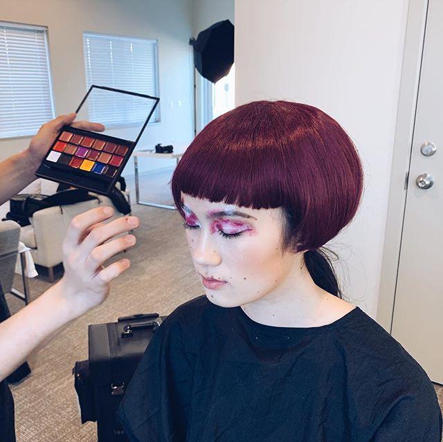 Hi Jayne. . . . . . . . #makeup #portraitphotography #fujifeed #xpro2 #200mm #yvr #beauty #photoshoot #fujifilm #fujifilm_xseries #portraitmode #creative #rad #nylon #eyeshadow #vancouvermodels #testshoot