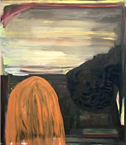 ohne Titel, Öl auf Leinwand, 150 x 130cm, 2013