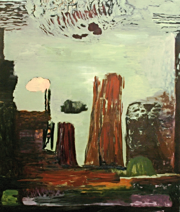 Ohne Titel, Öl auf Leinwand, 170 x 145 cm, 2013