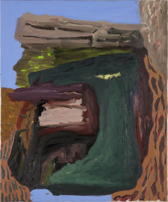 ohne Titel, Öl auf Leinwand, 60 x 50 cm