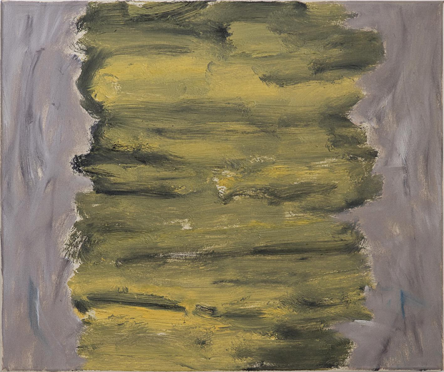 Ohne Titel, Öl auf Leinwand, 50 x 60 cm