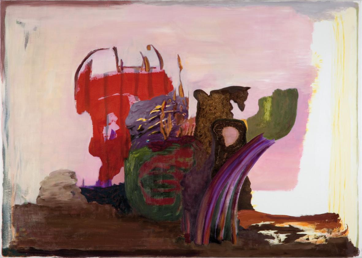 Ohne Titel, Öl auf Leinwand, 115  x 160 cm, 2014