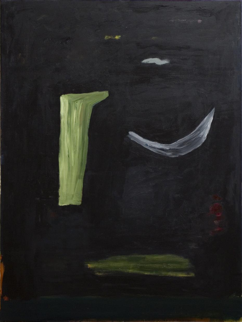 ohne Titel, Öl auf Leinwand, 160 x 120 cm, 2014