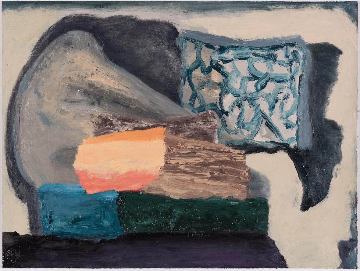 Ohne Titel, Öl auf Papier auf MDF in Künstlerrahmen, 30 x 40 cm