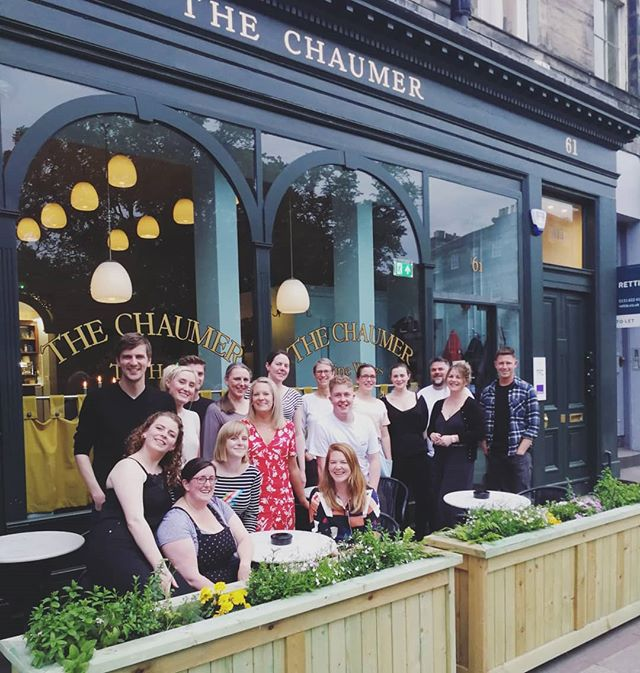 Last night we went to The Chaumer on Queen Street for our @3hillstreet Summer Social.  This amazing venue is available for private events in the evening and I would heartily recommend you get booked in! ⭐⭐⭐⭐⭐ The food was delicious (see our stories for some pics @sandstonecastles.marketing managed to get before it was devoured), the atmosphere relaxed, and the staff a joy. ⭐⭐⭐⭐⭐ And the company was, as usual, THE BEST. Thanks to all the Hillbillies for making it a brilliant evening. ⭐⭐⭐⭐⭐