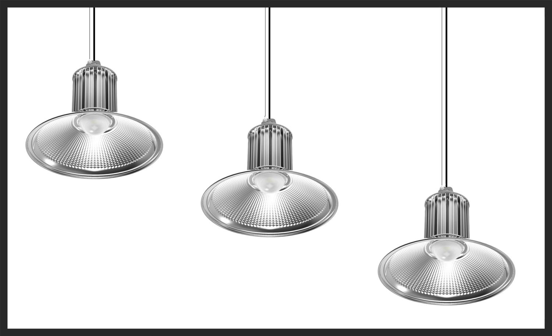 Klikk for teknisk oversikt til de egnede produkter:  High Bay Lights