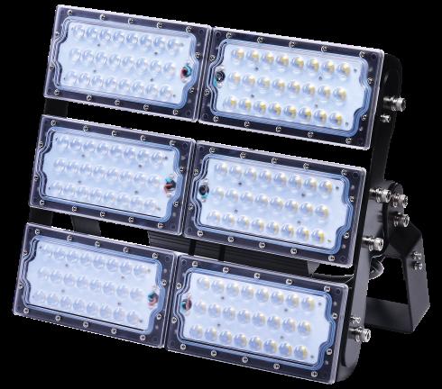 LUX-flomlys kommer i 50W, 100W, 150W, 200W, 300W.