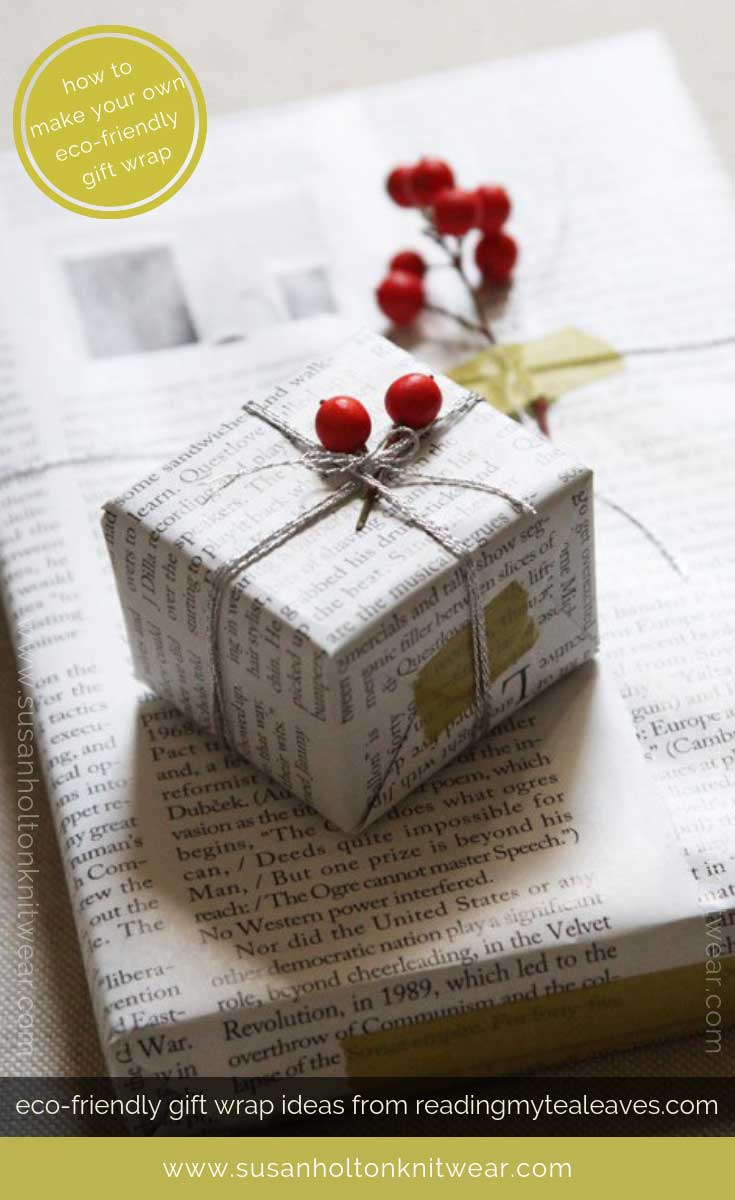 How to DIY your own stylish gift wrap from discarded magazine pages - creative and eco-friendly. Fun and #sustainable easy ways to #wrap your gifts #eco #friendly #DIY #handmade #Christmas #gift #wrapping #ideas