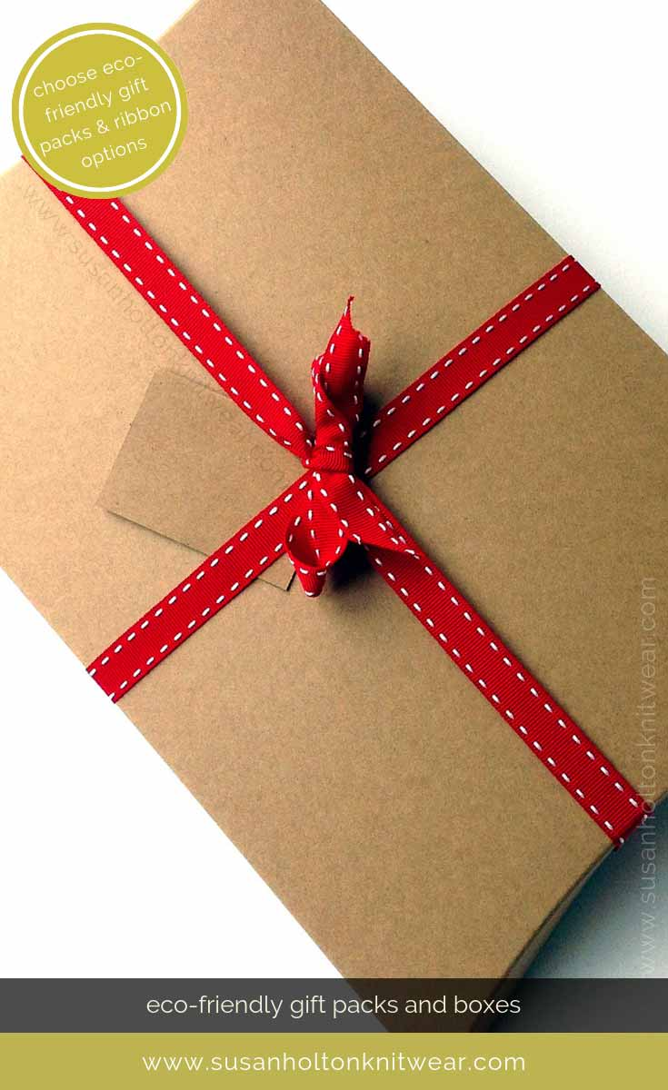 Copy of Add my stylish eco-friendly gift wrap to your order and send direct. Choose from 3 colours of ribbon. #Sustainable easy way to #wrap your gifts #eco #friendly #DIY #handmade #Christmas #gift #wrapping
