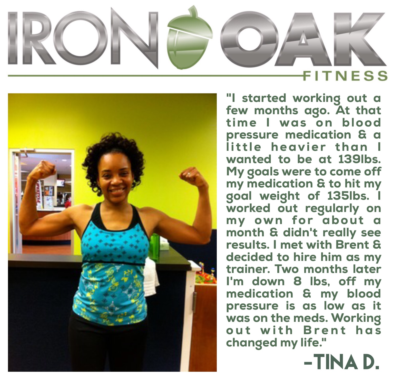 Tina Davis Testimonial