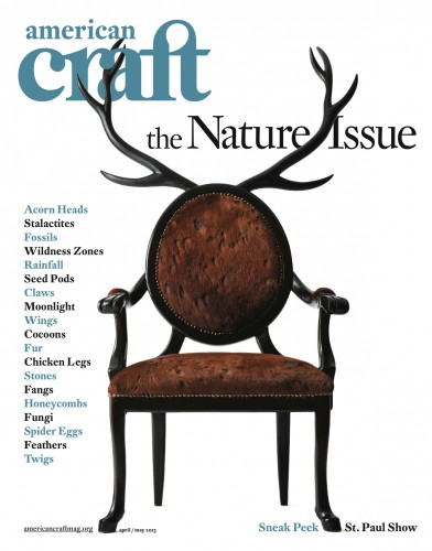 American Craft  magazine USA April/May 2013