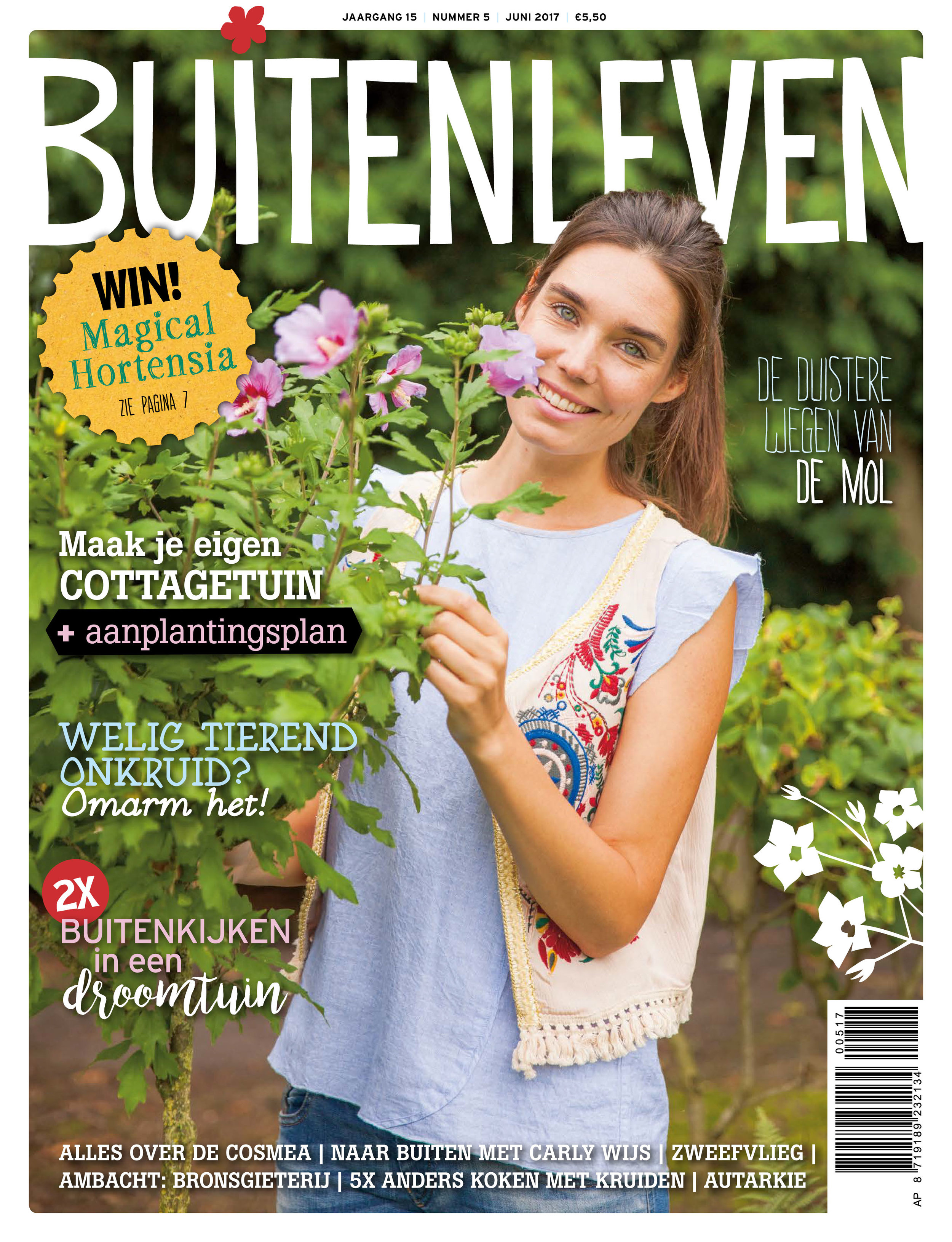 Buitenleven  magazine  Netherlands June 2017
