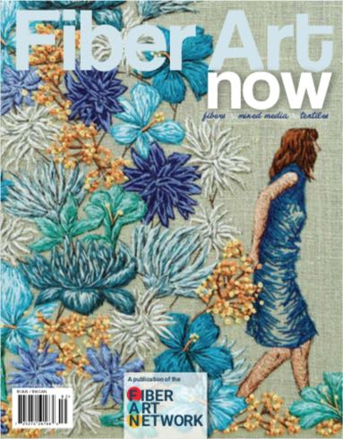 Fiber Art Now  magazine USA Summer issue 2018