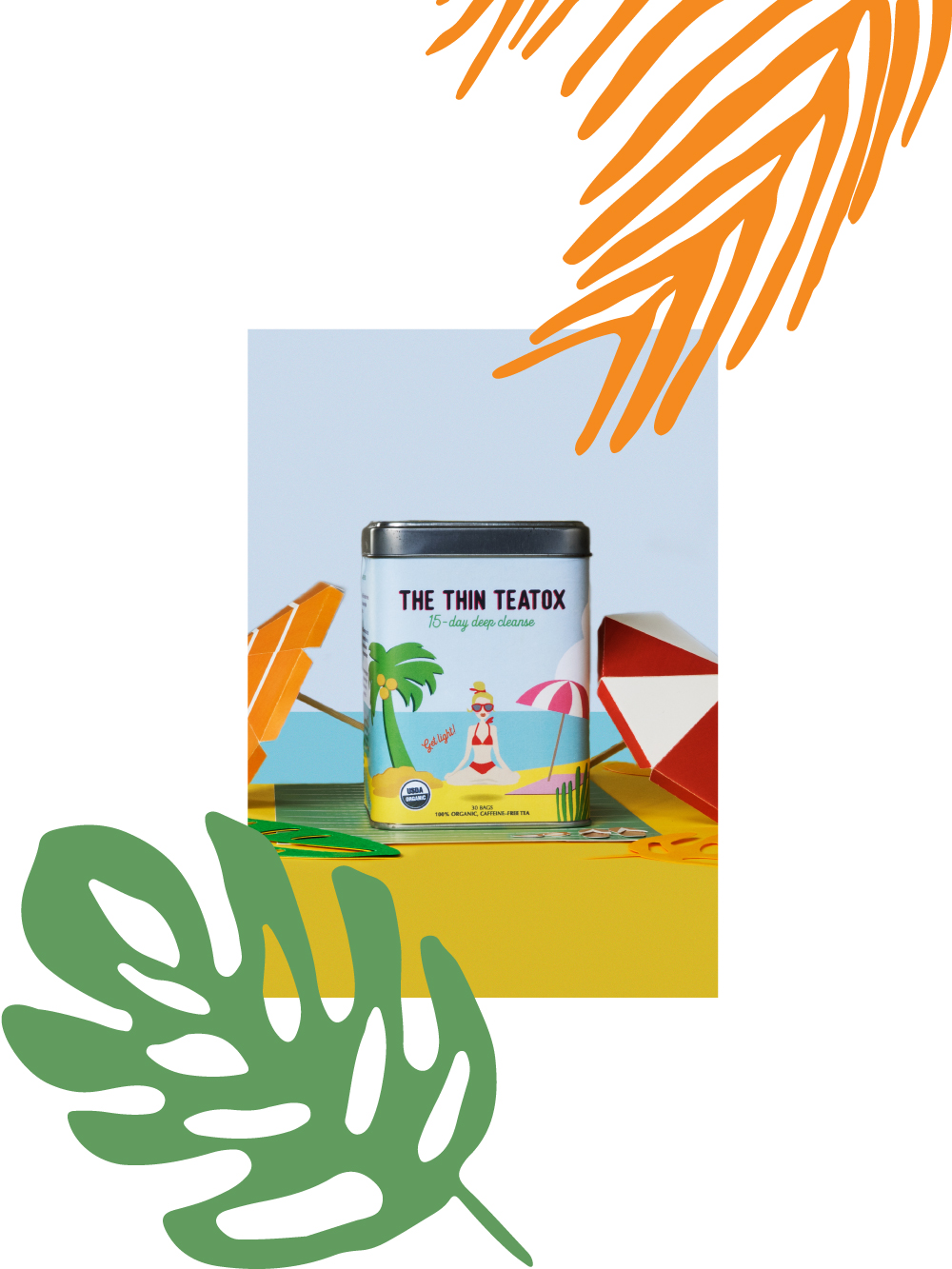 It all started when - The owners of The Thin Tea came to us to design the packaging for their first product, The Thin Teatox. It is an organic tea-based detox programme catering to a youthful female audience looking for a natural and healthy way to enhance the way they look and feel.Being a product in a pretty competitive space our client was looking for an eye-catching packaging that their young audience can relate to.The packaging had to lend itself well to social media, as well as hold its ground on the e-commerce shelf. The Thin Teatox had to stand out from what was already in the market, yet not look too different from the product type.