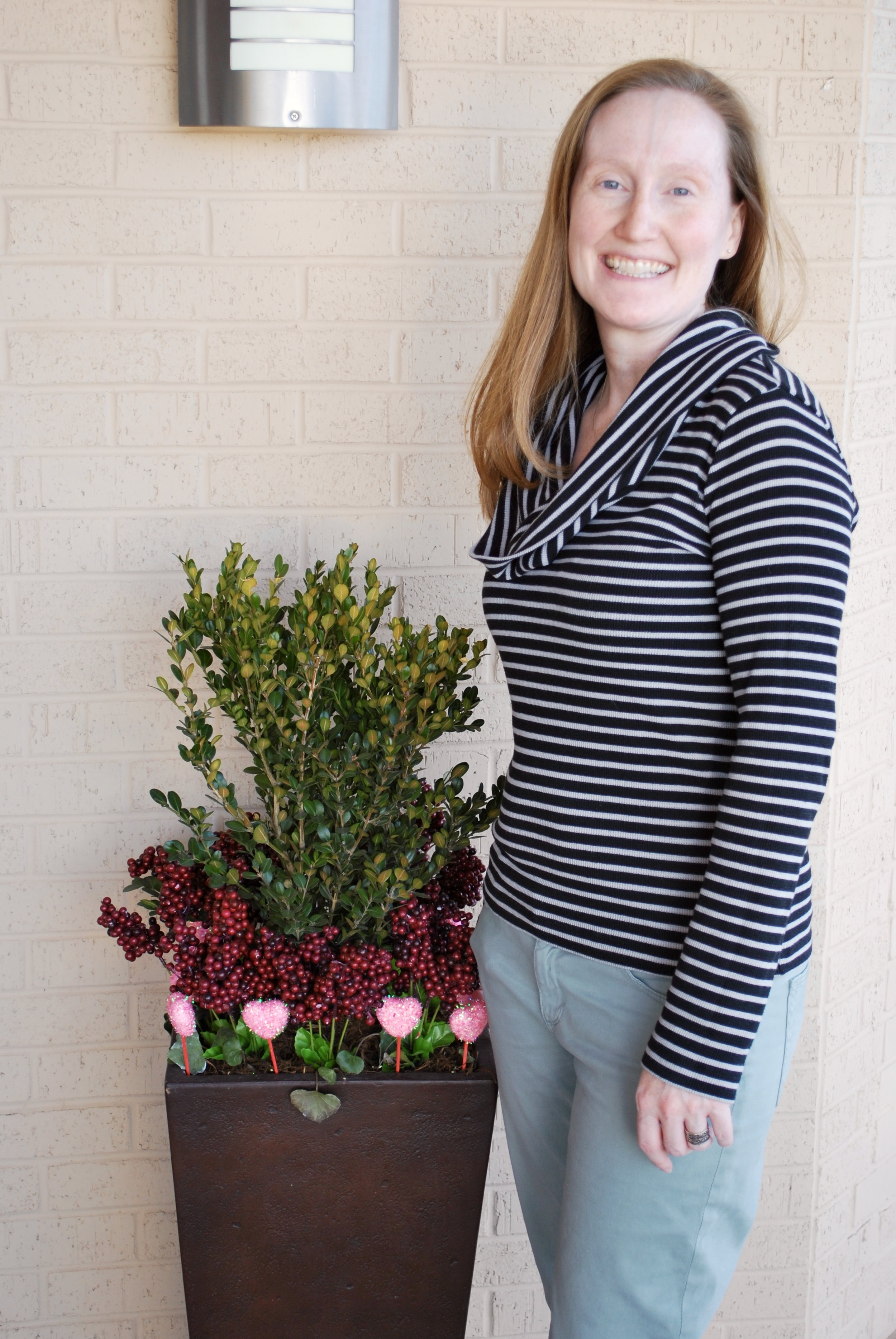 "Curb appeal shout out!  Morgan, the fabulous Owner of Green Bambino, contacted me over a year ago asking for help with outdoor pots at her store. Initially she needed new pots so I helped her find two planters that were just the right size and shape for her store front. I change out the plants and flowers on a seasonal basis and visit monthly to make sure they always look their best. Morgan recently shared this with me, which warmed my heart. ""Having you take care of this has taken a load off my plate and makes me smile every time I go past the planters."" Morgan understands that her customers' experience begins before they even enter her store. I so appreciate her love of curb appeal.  Green Bambino is OKC's #1 natural parenting resource, providing parents in our community with simple, affordable, responsible resources they need to be more thoughtful in their parenting and family lifestyle. They have a great selection selection of sustainable & eco-friendly products. The store is a hub for expert parenting education and natural-living information and a welcoming space for support, encouragement and community engagement. They are located at 5120 N. Shartel Avenue and can be reached at 405-848-2330 and  www.green-bambino.com . Green Bambino is a locally owned store and an asset to our community, go see Morgan and support small business."
