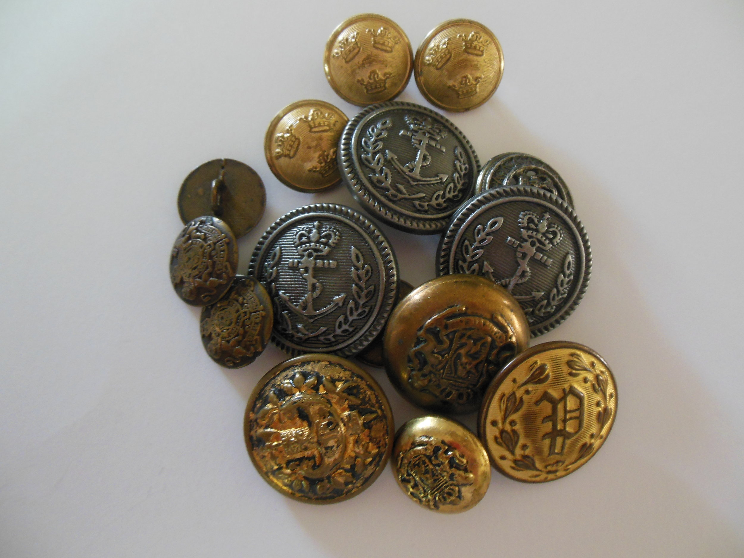 My original sort of Other Uniform buttons.