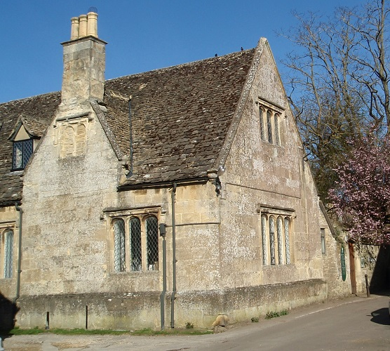 Downton Abbey Hospital, Bampton Library Oxfordshire UK