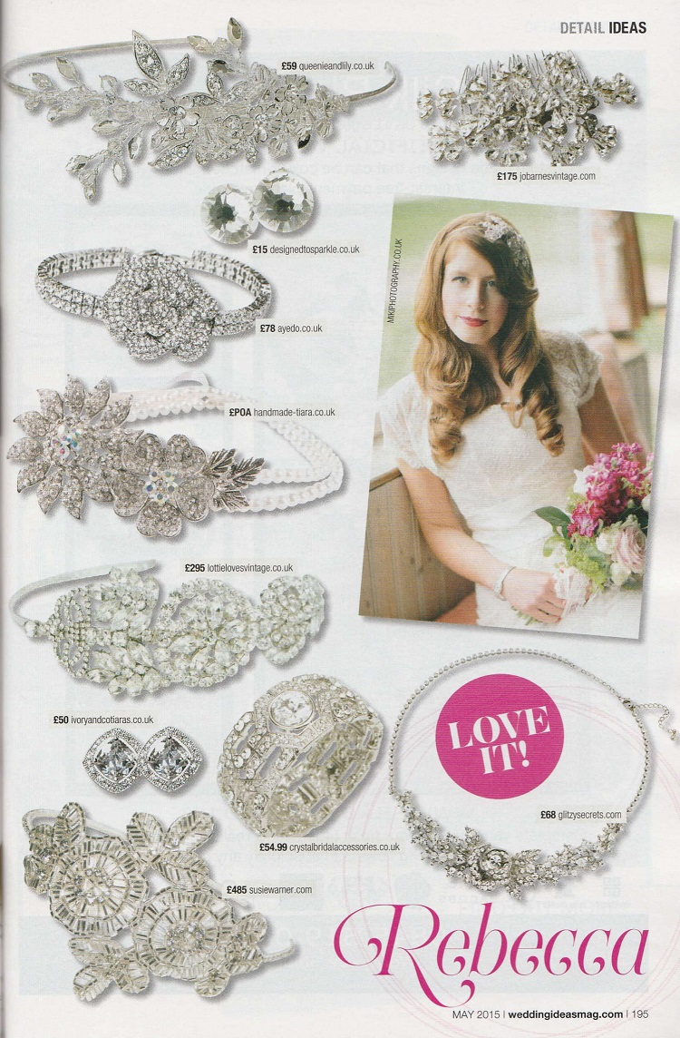 swarovski crystal wedding stud earrings Wedding Ideas Magazine May 2015